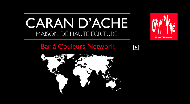"Projection Flash ""Bar à couleur"" pour caran d'ache"